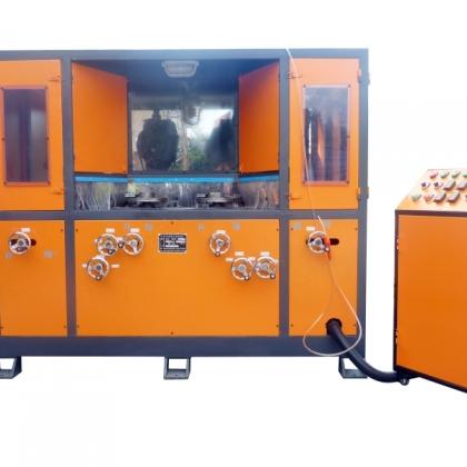 四组圆盘自动磨砂机   圆盘自动抛光机 LC-ZP904A