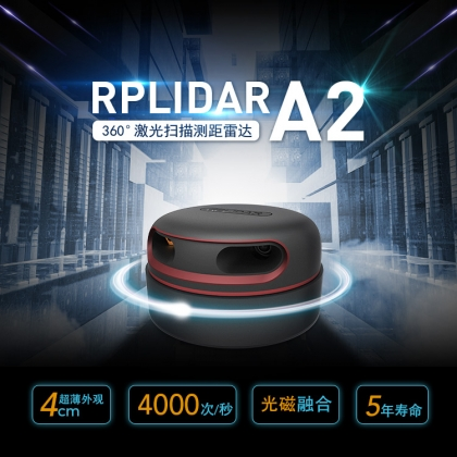 激光雷达领导品牌公司丨思岚科技RPLIDAR A2激光雷达
