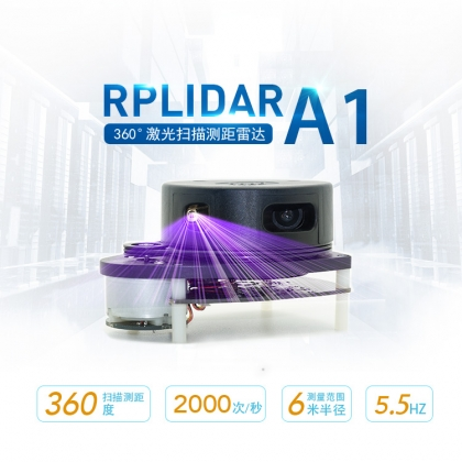 激光雷达领导品牌公司丨思岚科技RPLIDAR A1激光雷达