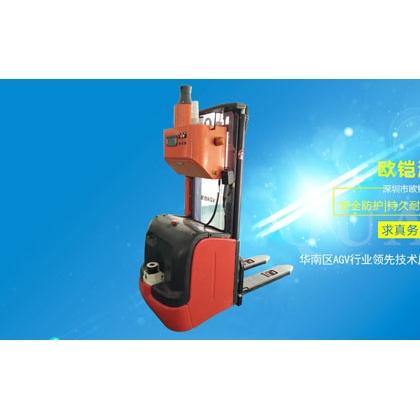 欧铠激光叉车自动无人运载装卸堆垛叉车上海叉车厂家供应