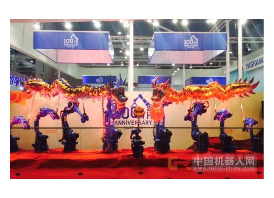 智能机器人表演赛9月潍坊举行   安川携世界顶级协作控制系统舞龙机器人亮相