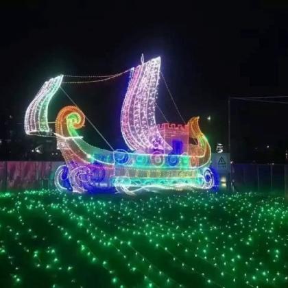 创造商业财富灯光节出租 灯光艺术展出售