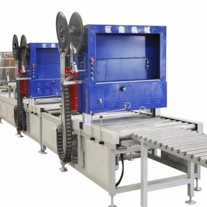 山东巨鼎机器人—全自动瓷砖打包机