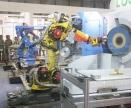 水龙头打磨抛光机器人生产线