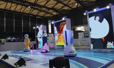 酷炫的服务机器人世界 尽在SR SHOW 2016国际服务机器人展