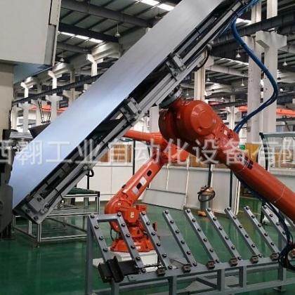 专注电器柜体/电梯门板ABB机器人折弯自动化生产线