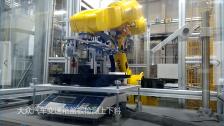 图灵机器人大众汽车变速箱盖板检测上下料