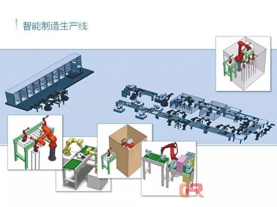40多套机器人为您示范无人生产线