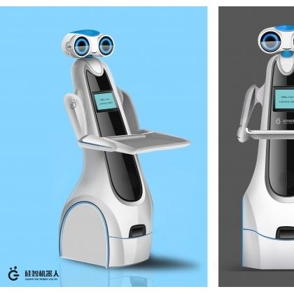 送餐机器人,硅智科技
