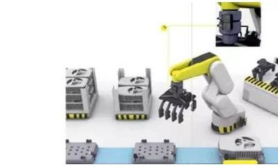 "AHTE 2017巴鲁夫BIC电感式耦合器    ——让协作机器人轻松""上阵"""
