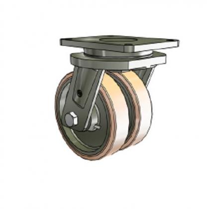 进口重型双轮脚轮,意大利Tellure rota