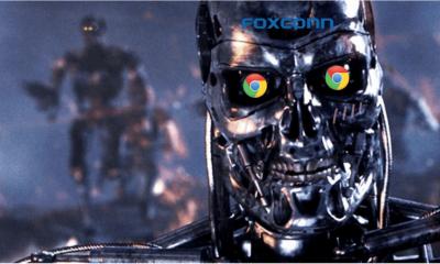传富士康与 Google 就后者机器人技术进行合作