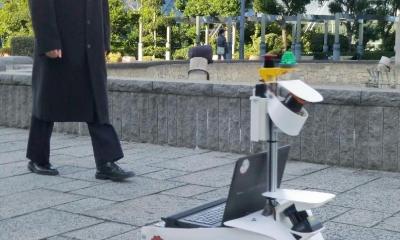 日本开发自动行驶机器人 有望配合东京奥运启用
