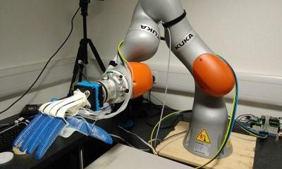 采摘机器人问世 可自主判断水果熟不熟