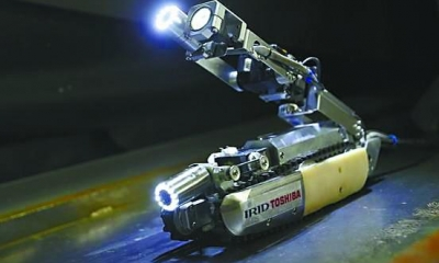 """又一机器人在福岛""""牺牲"""" 安全壳内部辐射太强"""