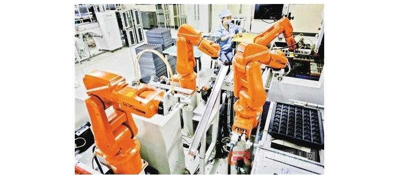 广东推进工业机器人进集群 应用机器人将超8万台