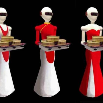 诺比机器人新款发布餐厅机器人服务员送餐 迎宾 智能语音聊天