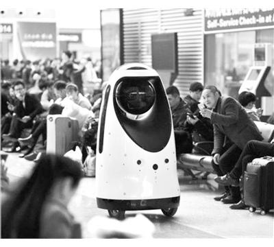 全国首款警察机器人投入使用
