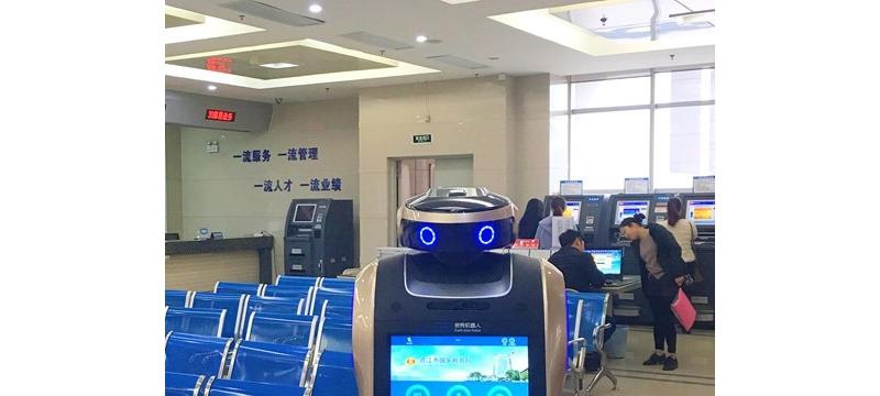 福建首个税务机器人现身晋江 可对话能导航会答疑