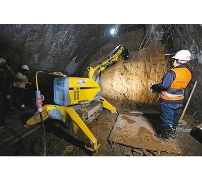 机器人上阵助力西安地铁施工