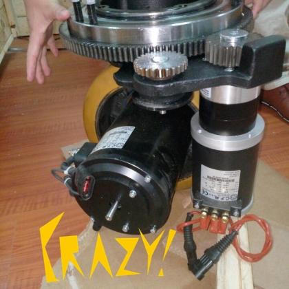 工业AGV行业领跑者(CFR舵轮)-带转向AGV驱动轮