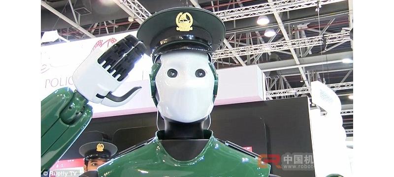 迪拜5月启用机器人警察巡逻 机器战警走入现实