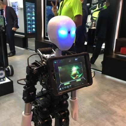 UXA-90人形智能舞蹈机器人