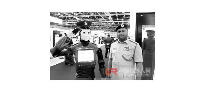 迪拜街头将部署机器人警察