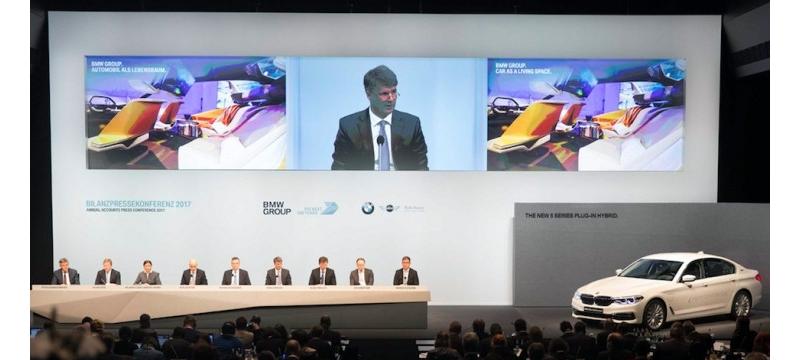 宝马集团发布财年报告后的新动作:将推40余款车型,以及在全球开展高度自动驾驶测试