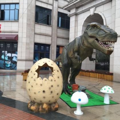 恐龙展览专用8米霸王恐龙模型出租