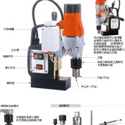 供应MD350N磁座钻,磁力钻,小型钻孔机