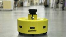 灵喵机器人激光导航模块视频