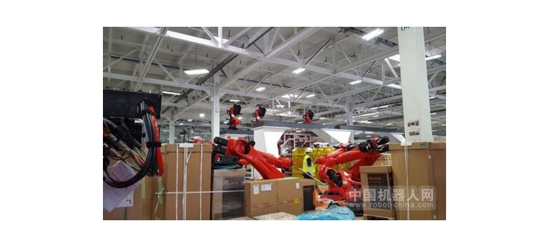 """""""外星人战舰"""" 特斯拉机器人工厂正在不断成型"""