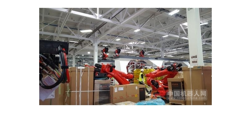 特斯拉买了不少库卡机器人:将用于Model 3生产