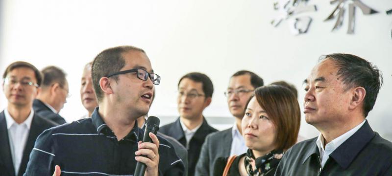 中国工程院院长周济到博众•凡赛斯自动化学院调研