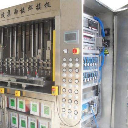 全自动超声波焊接设备-全自动化超声波焊接设备