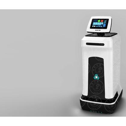 送餐机器人米克力美餐饮机器人服务机器人