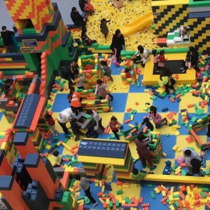 大型乐高积木机器人模型乐园出租