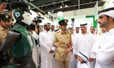030 年,迪拜或将出现一个全部由机器人组成的警察局