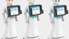 穿山甲多功能服务机器人迎宾机器人 银行机器人 酒店机器人价格