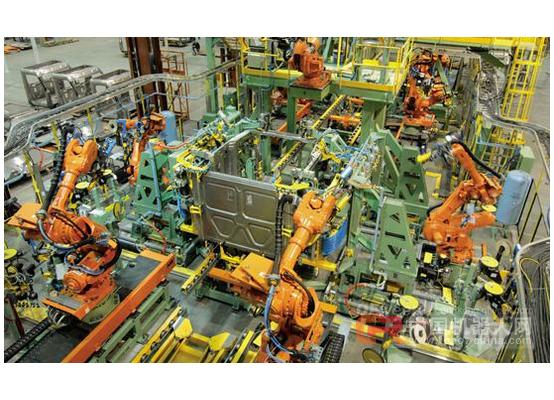 日本产业用机器人去年生产台数创史上新高