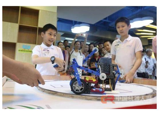 蟹壳机器人教育,助力亚太青少年机器人华南区域赛