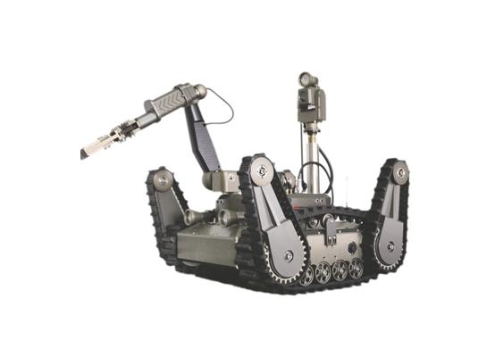 成都研发出国内首套核电应急机器人 有很多不同功能