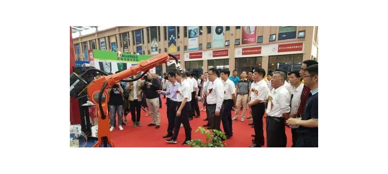 【开展】钱江机器人亮相2017中国(泉州)五金机械博览会