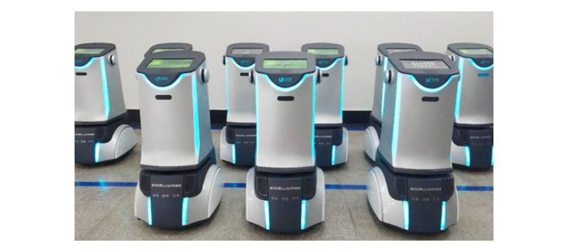 上广深订单激增 优地机器人定型量产