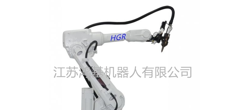 适合多种材料加工的HR150D切割机器人!