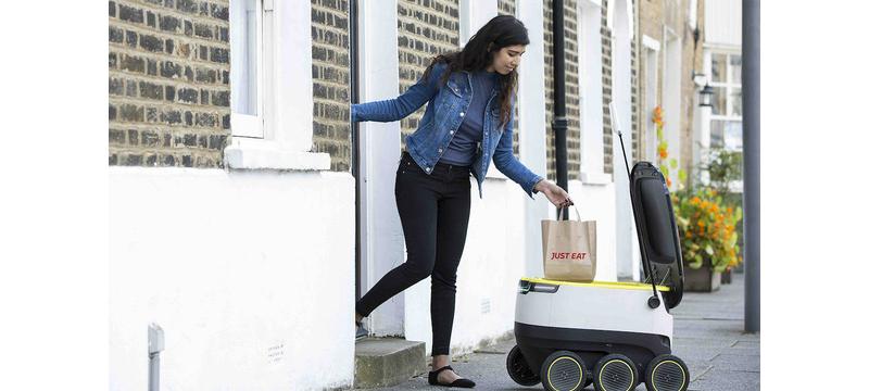 送餐机器人再下第三城:威斯康星立法允许机器人上路