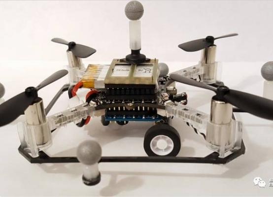 能在地上跑的无人机?能飞上天的无人车?