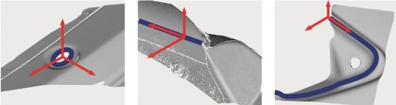 测量边沿、孔洞、间距或齐平凹槽 - APS3D结合立体测量、三角测量、移相照明,为各种任务提供解决方案。