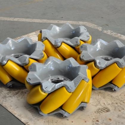 20寸45度重负载 全轴承工业级全向轮 全向车 麦克纳姆轮 一体成型铸造轮毂CMA-50 成都航发